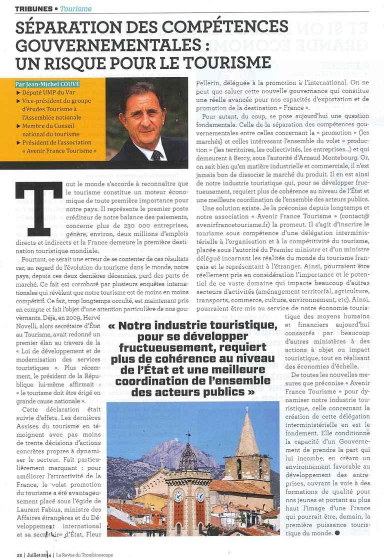 la revue du trombinoscope juillet 2014